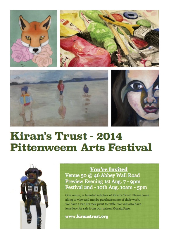 Pittenweem Arts Fest Leaflet